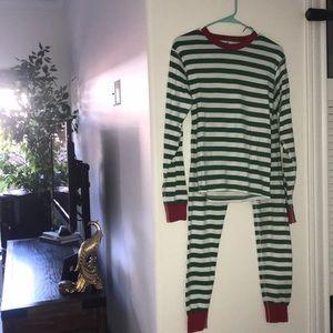 Hannah Anderson organic cotton pajama set